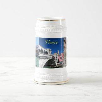 Beautiful Venice, Rialto Bridge Beer Stein