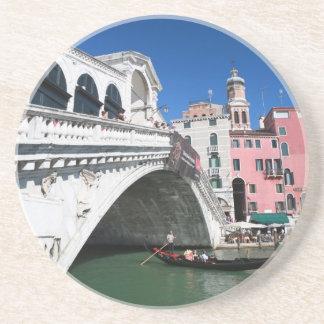 Beautiful Venice Rialto Bridge Drink Coasters