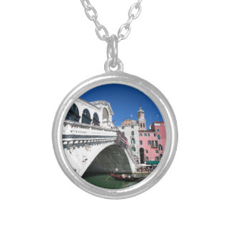 Beautiful Venice, Rialto Bridge Personalised Necklace