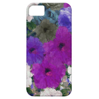 Beautiful Vibrant Abstract Flowers iPhone SE/5/5s Case