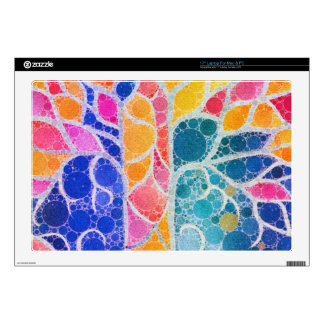 Beautiful Vibrant Abstract Texture Decal For Laptop