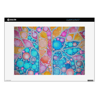 Beautiful Vibrant Colors Abstract Laptop Skin