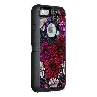Beautiful Vibrant Flowers OtterBox Defender iPhone Case