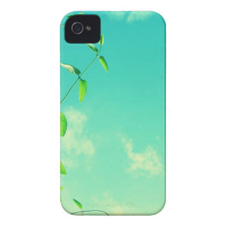 Beautiful vibrant sky with leaves Case-Mate iPhone 4 case