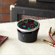 Beautiful Vibrant Swirly Abstract Pattern Bluetooth Speaker