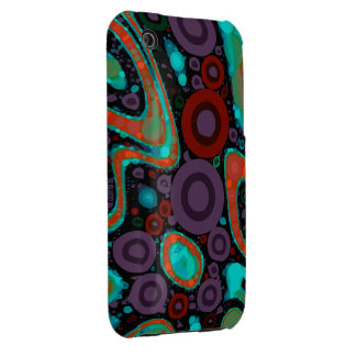 Beautiful Vibrant Swirly Abstract Pattern iPhone 3 Cover