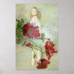 Beautiful Victorian Motif /Renoir Ballerina Poster