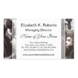 Beautiful Victorian Women in Long Vintage Dresses Double-Sided Standard Business Cards (Pack Of 100)