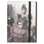 Beautiful Victorian Women in Long Vintage Dresses iPad Case