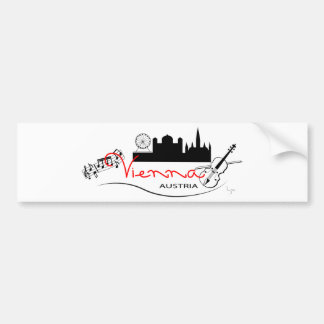 Beautiful Vienna, Austria Bumper Sticker