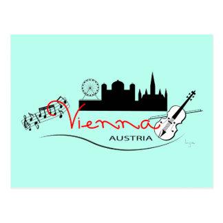 Beautiful Vienna, Austria Postcard