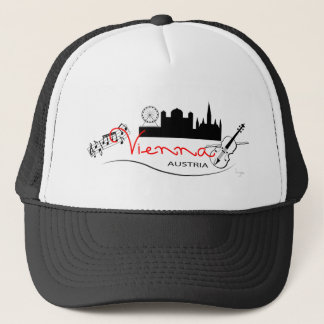 Beautiful Vienna, Austria Trucker Hat
