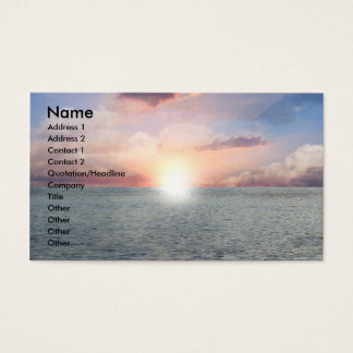 Beautiful View Business Card