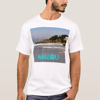 Beautiful view from Sea Level Drive, Malibu, CA T-Shirt