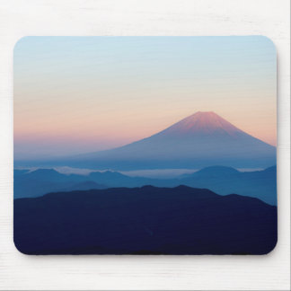 Beautiful view Mt. Fuji, Japan, Sunrise Mouse Pad