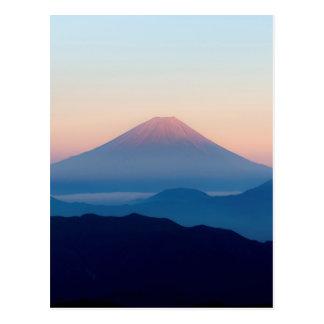 Beautiful view Mt. Fuji, Japan, Sunrise Postcard