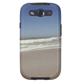 Beautiful view of beach against clear sky 3 samsung galaxy s3 cases