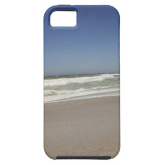 Beautiful view of beach against clear sky 3 iPhone SE/5/5s case