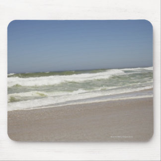 Beautiful view of beach against clear sky 3 mouse pad