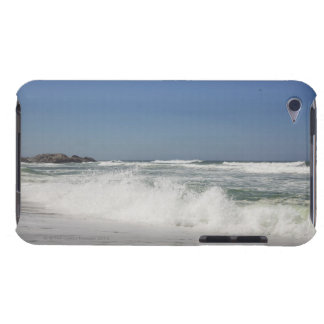 Beautiful view of beach against clear sky iPod touch cover
