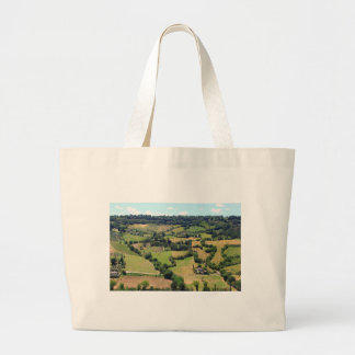Beautiful view  of Orvieto, Umbria,Italy Large Tote Bag