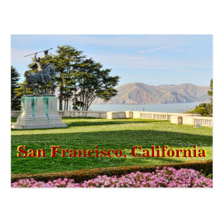 Beautiful View of San Francisco Bay Postcard