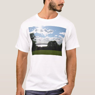 Beautiful view of the sky & water in Newport T-Shirt