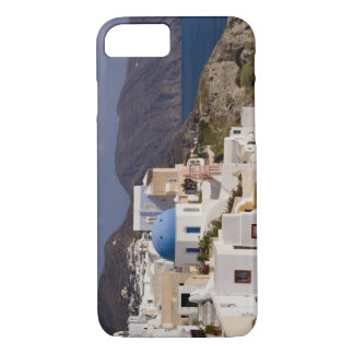 Beautiful village of Oia with white buildings iPhone 7 Case