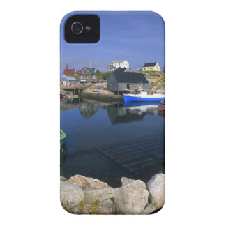 Beautiful village of Peggy's Cove with harbor Case-Mate iPhone 4 Cases