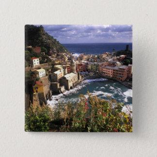 Beautiful Village of Vernazza in the Cinque Button