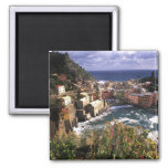 Beautiful Village of Vernazza in the Cinque Fridge Magnets