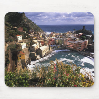 Beautiful Village of Vernazza in the Cinque Mouse Pad
