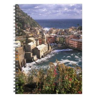 Beautiful Village of Vernazza in the Cinque Notebook