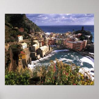Beautiful Village of Vernazza in the Cinque Print