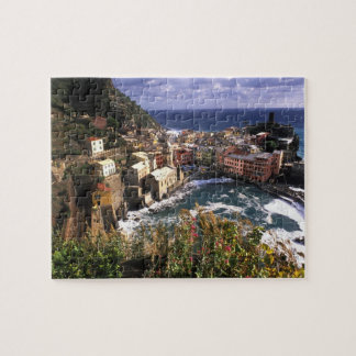 Beautiful Village of Vernazza in the Cinque Puzzles