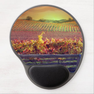 Beautiful Vineyard Mouse Pad with Gel Comfort