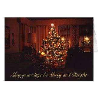 Beautiful Vintage 1970's Christmas Tree Greeting Cards
