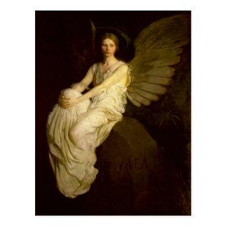 Beautiful Vintage Angel - Abbott Handerson Thayer Postcard
