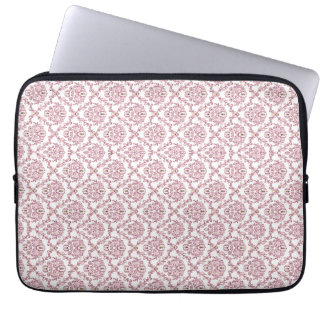 Beautiful vintage Art Nouveau pink pattern Laptop Computer Sleeves