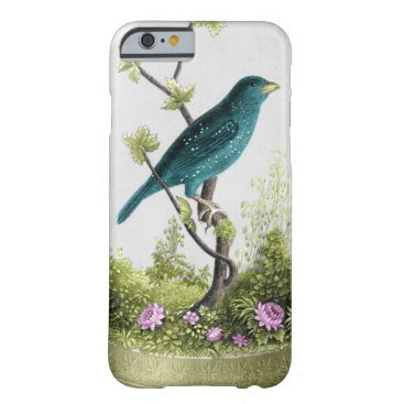 Beautiful Vintage Bird Barely There iPhone 6 Case