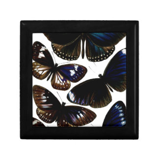 Beautiful vintage butterflies picture pattern jewelry boxes