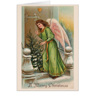 Beautiful Vintage Christmas Classic Card