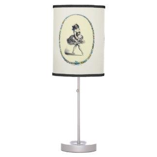 Beautiful Vintage Dancing Girl Lamp