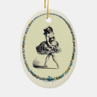Beautiful Vintage Dancing Girl Ornaments