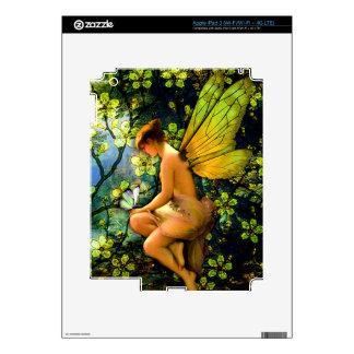 Beautiful Vintage Fairy iPad 3 Decal