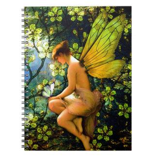 Beautiful Vintage Fairy Notebook