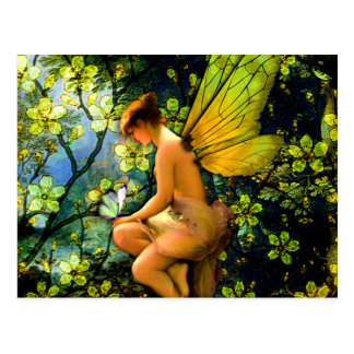 Beautiful Vintage Fairy Postcard