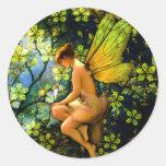 Beautiful Vintage Fairy Stickers
