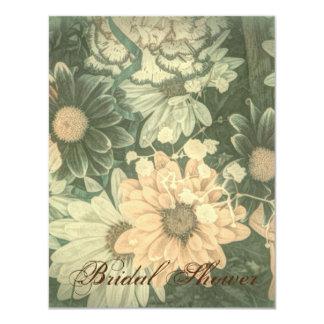 Beautiful vintage floral design card