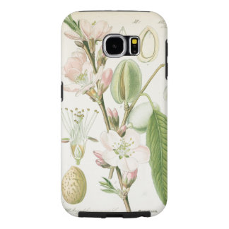 Beautiful vintage floral flower antique botanical samsung galaxy s6 case